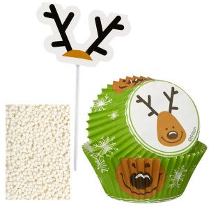 Reindeer Cupcake Decorating Kit